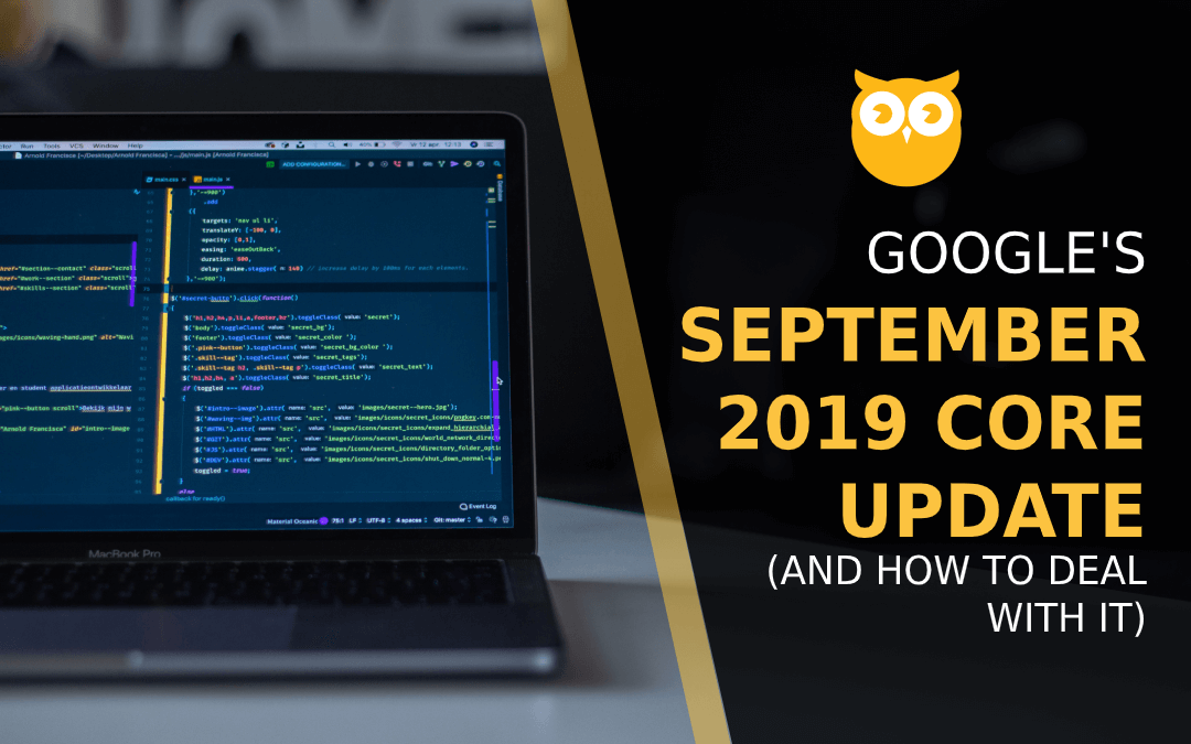 Google Rolls Out September 2019 Core Update