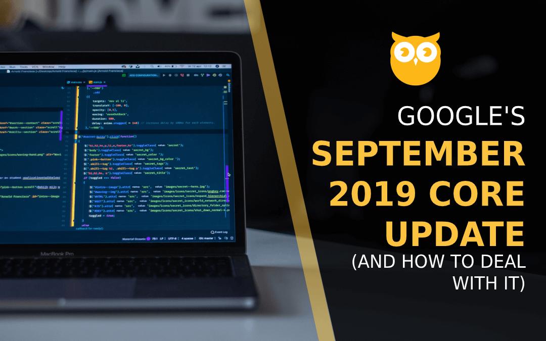 Google Rolls Out September 2019 Core Update